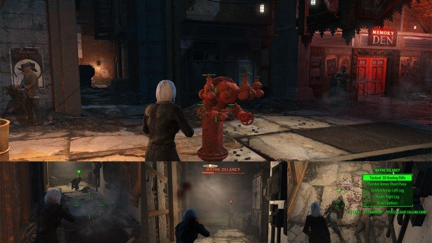 Fallout 4 - The Silver Shroud - Kill Wayne DeLancy