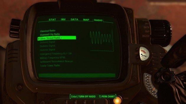 Fallout 4 - The Silver Shroud - Silver Shroud Radio