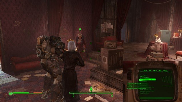 Fallout 4 - The Silver Shroud - Talk to Irma