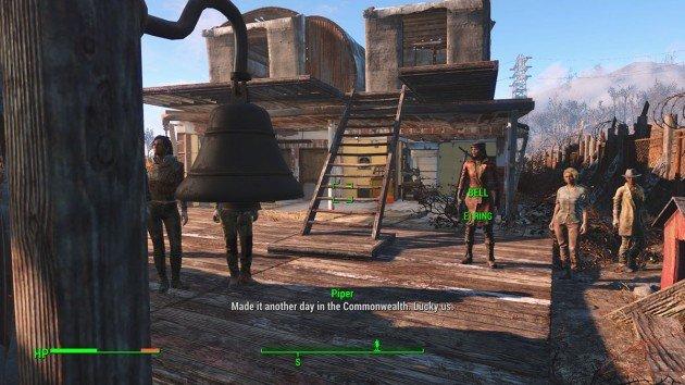 Fallout 4 - Unstuck Settlement - Ring the Bell
