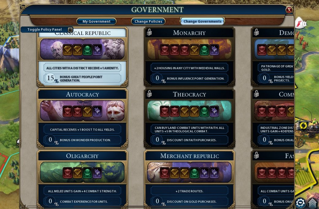 Civilization 6: Best Government Type to Win Easily