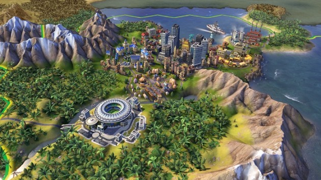 Civilization 6 game