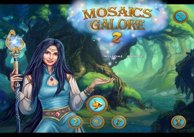 Mosaics Galore 2 game