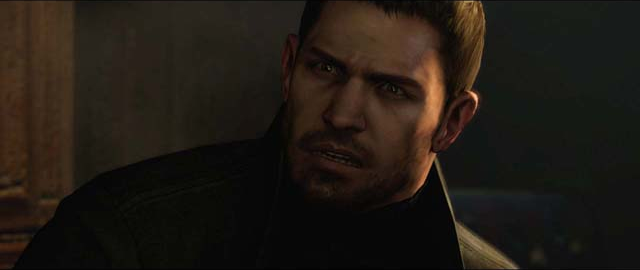 Chris Redfield's WTF face