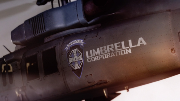 Umbrella helicopter