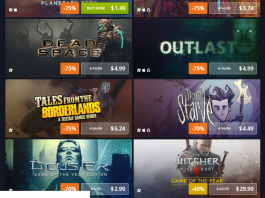 spring sale for video games