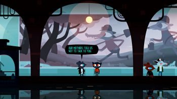 night in the woods mystery