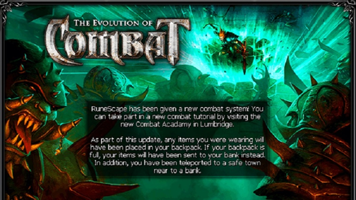 RuneScape: Evolution of Combat - November 2012