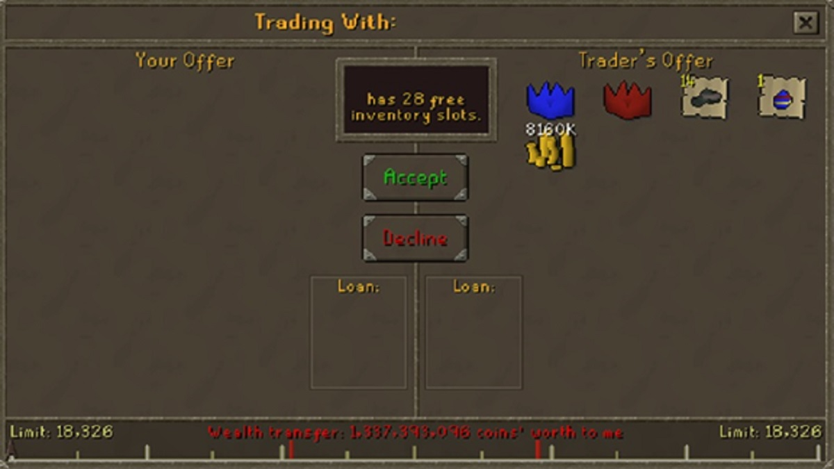 RuneScape: Goodbye Free Trade - January 2008