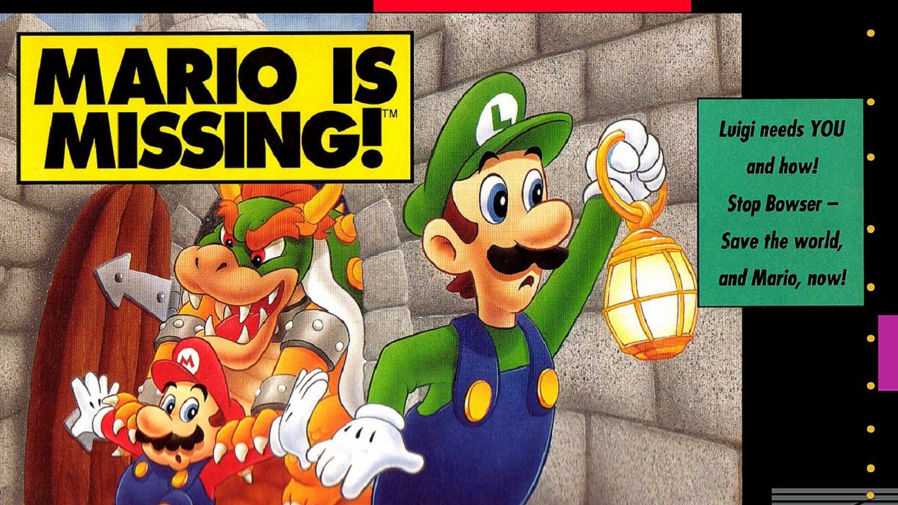 Mario is missing Nintendo Quiz
