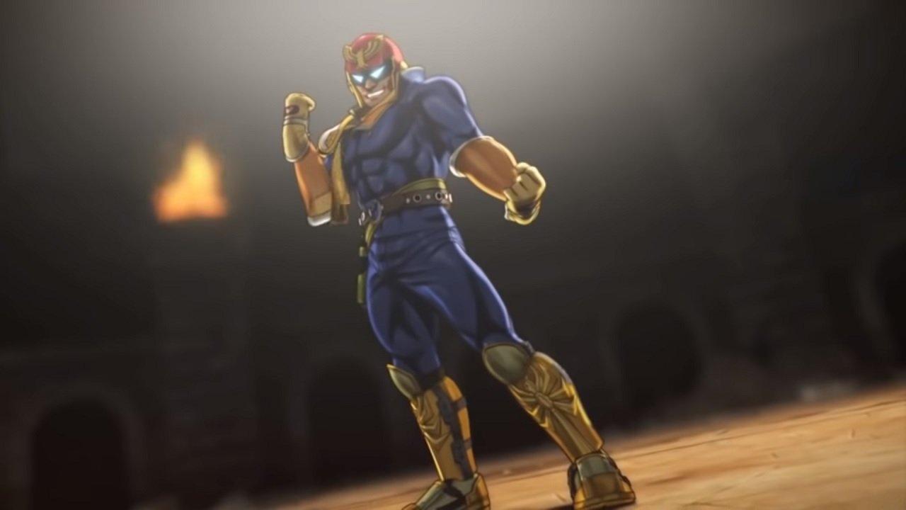 captain falcon Nitendo Quiz