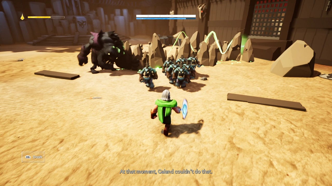 Gameplay combat