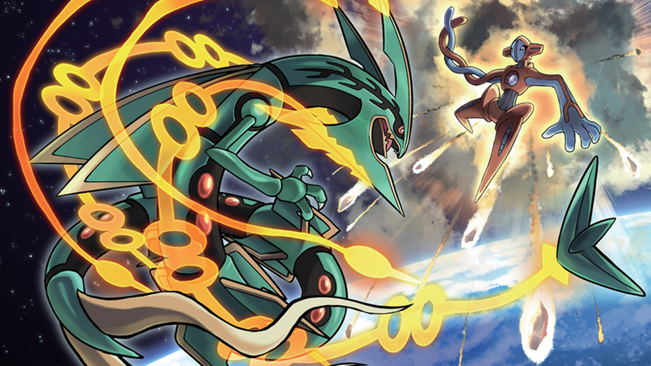 rayquaza mega in Pokemon quiz