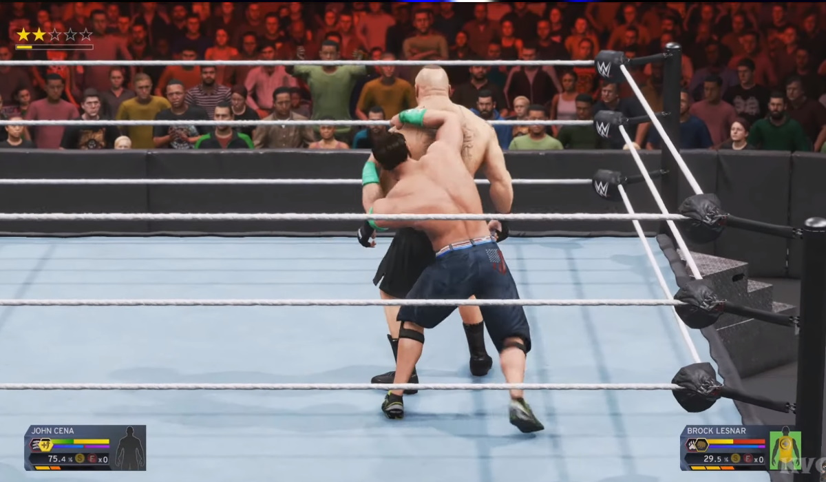 WWE 2K21 gameplay