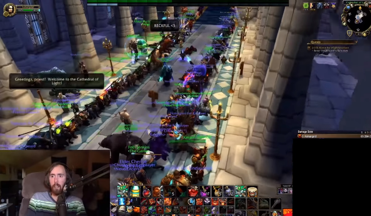 reckful world of warcraft tribute