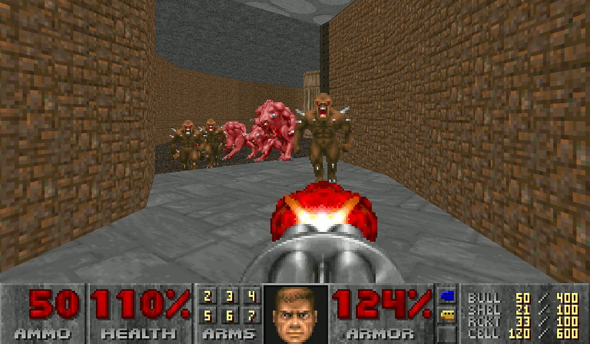 DOOM II GAMEPLAY
